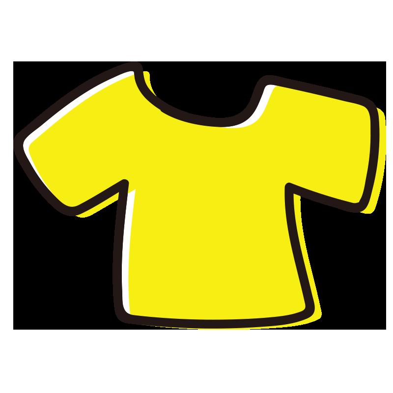 黄色いTシャツ