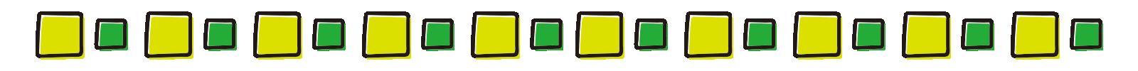 緑の四角いライン