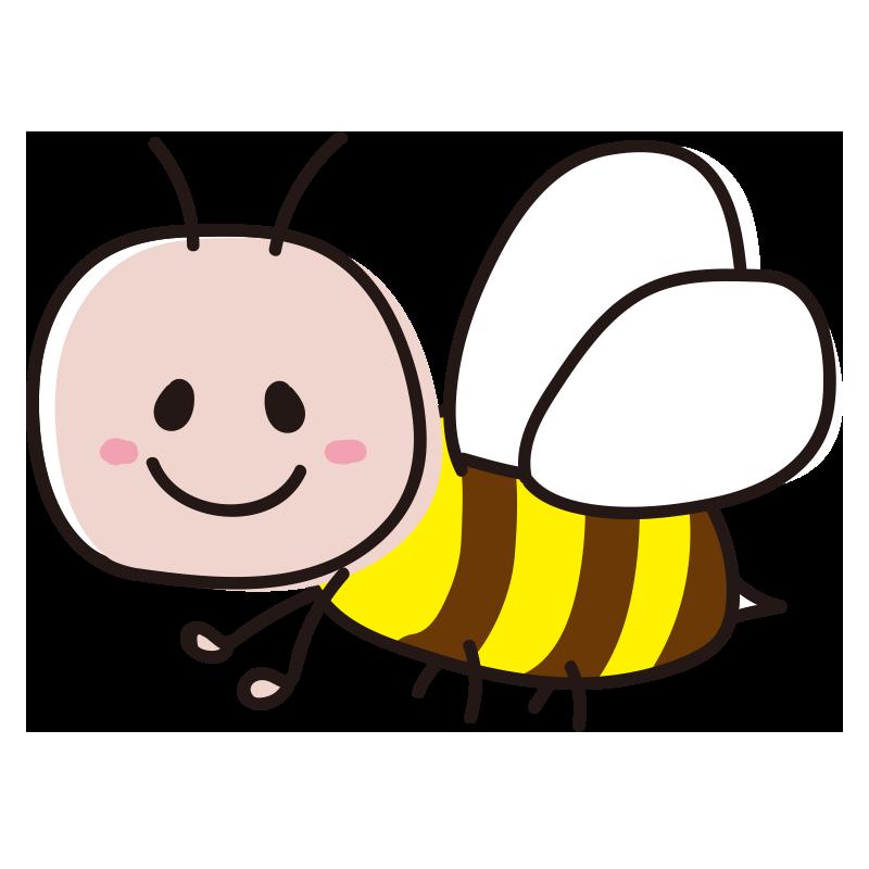 顔のある蜂