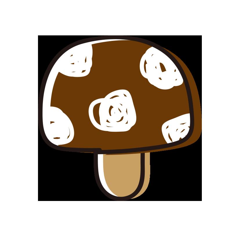 茶色いキノコ