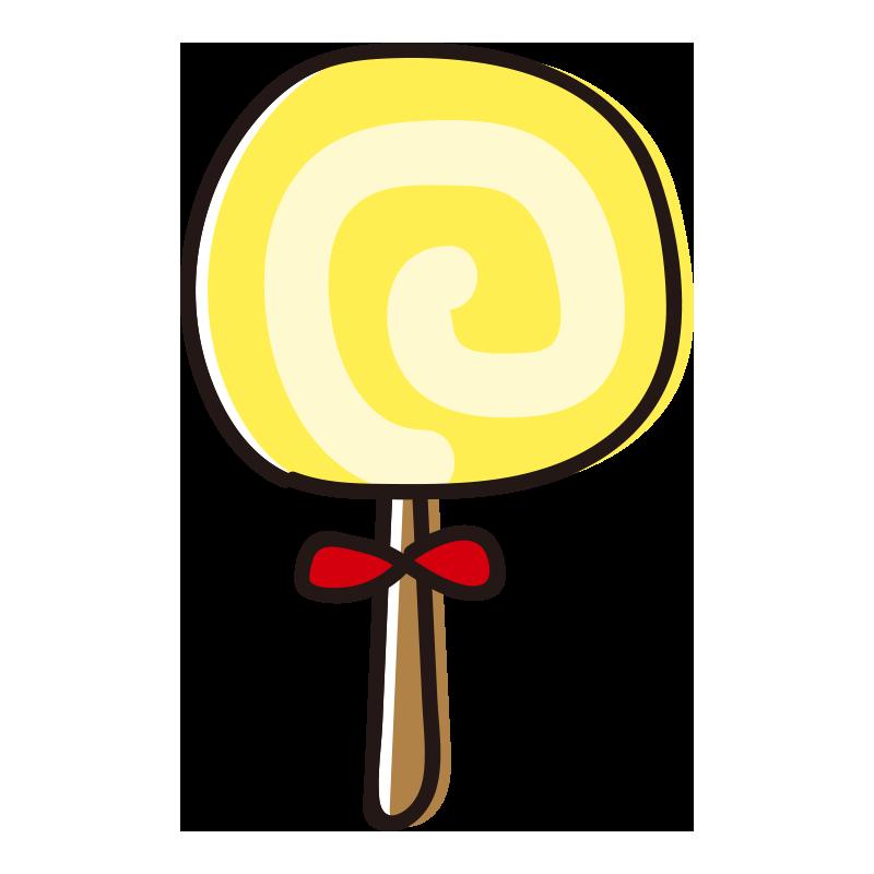 黄色いペロペロキャンディ