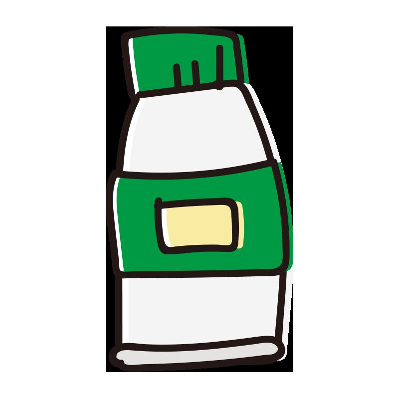 緑色の絵具