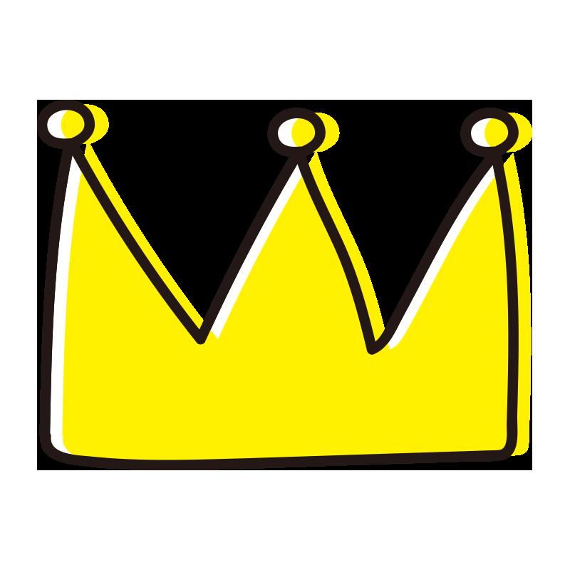 飾りのある王冠