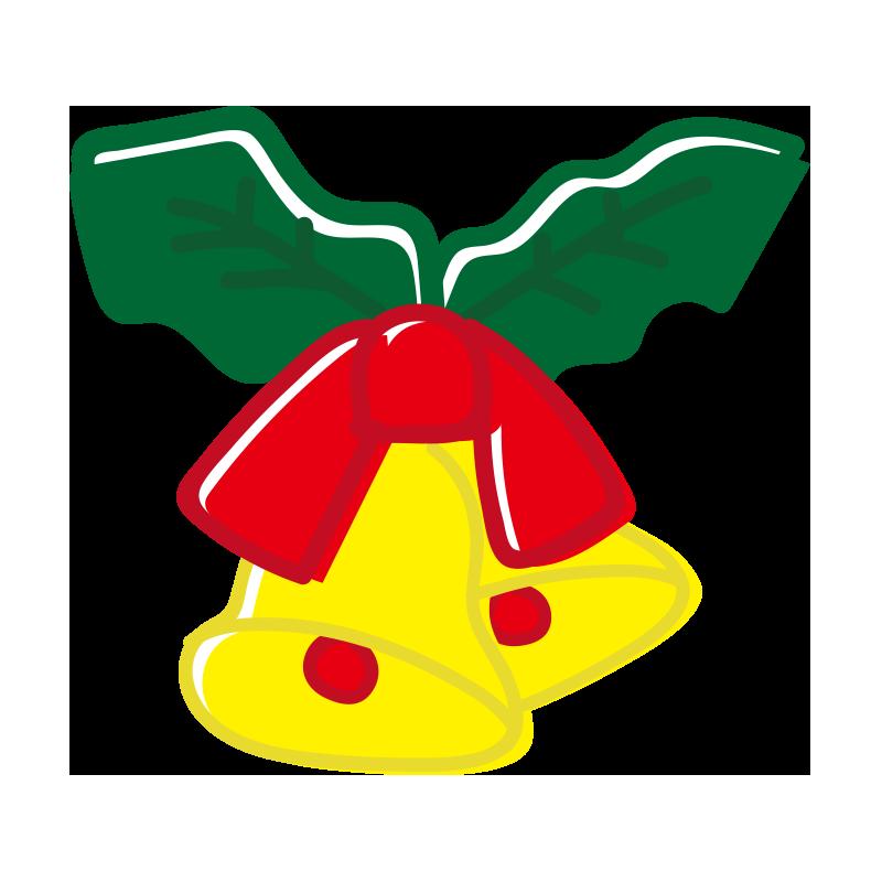クリスマス2つの鈴の飾り2