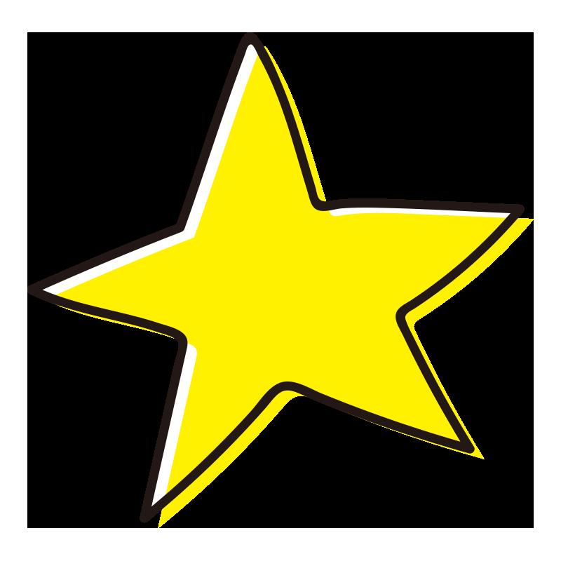 とがった星1