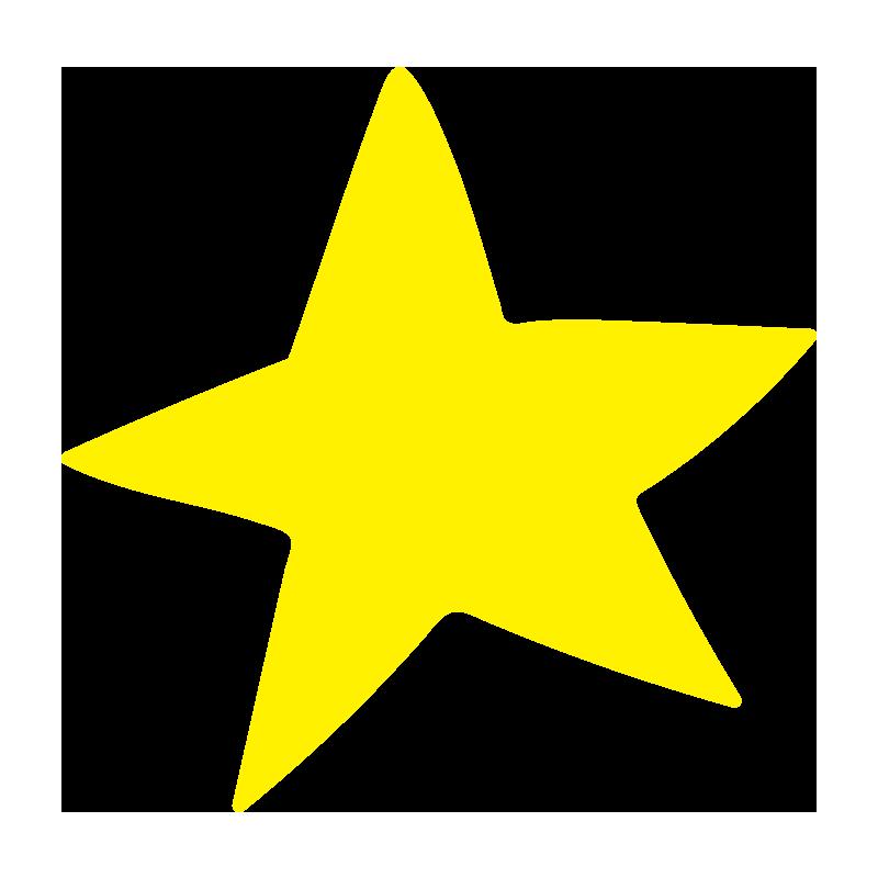 とがった星2