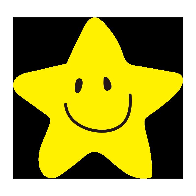 角丸の笑顔の星2