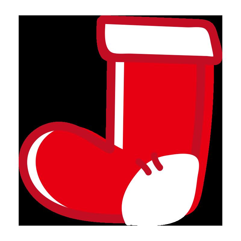 赤い靴下2