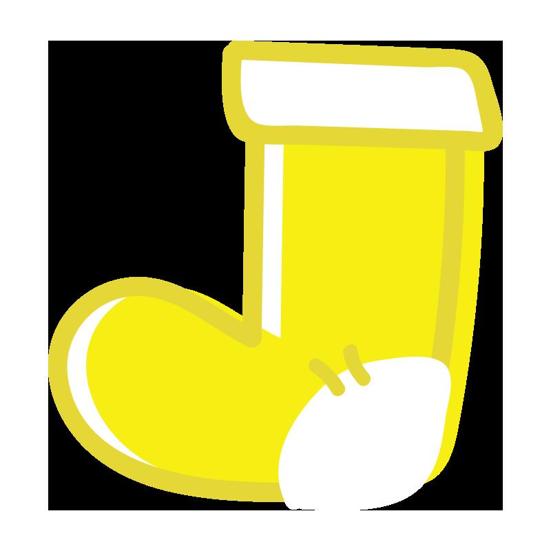 黄色い靴下2