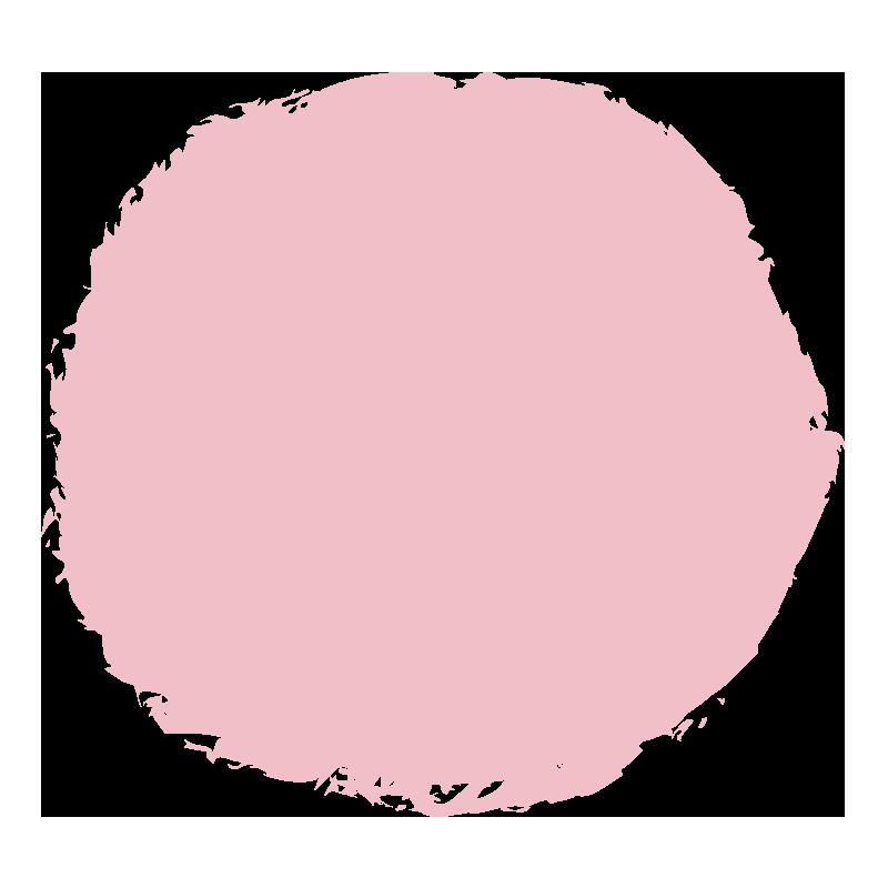 ピンクのまる1