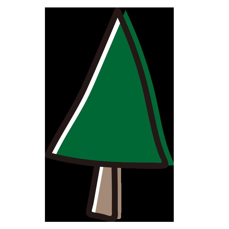 三角の木1
