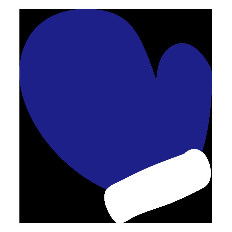 青い手袋2