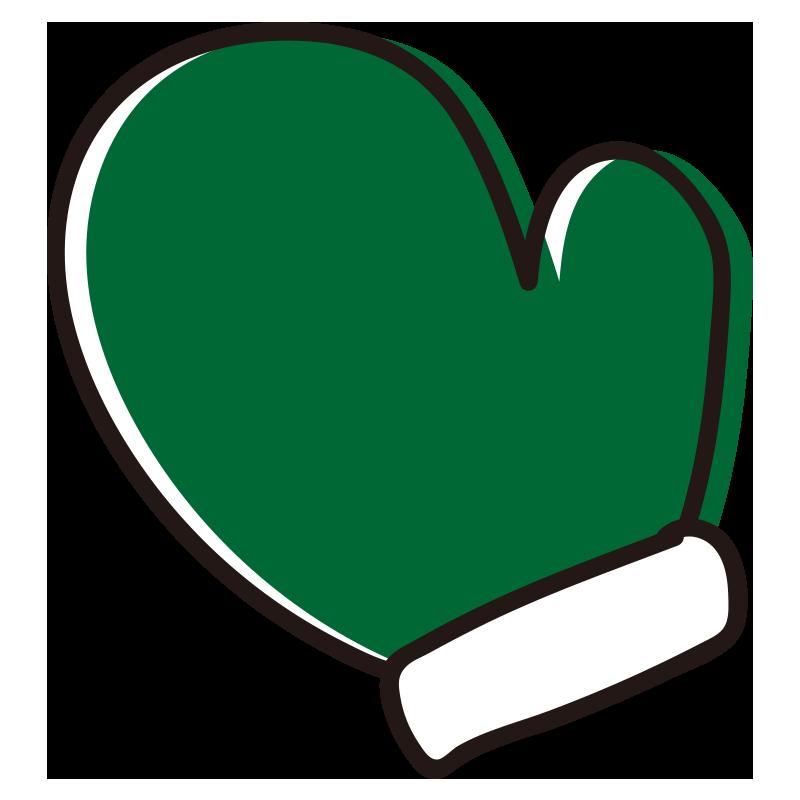 緑の手袋1