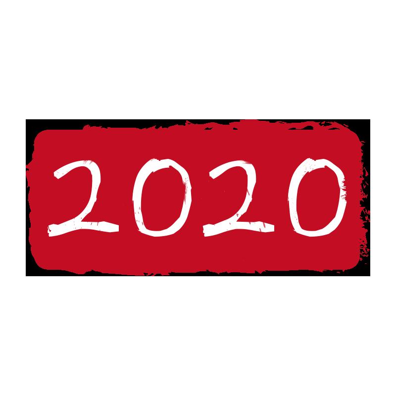 ハンコ風2020年2