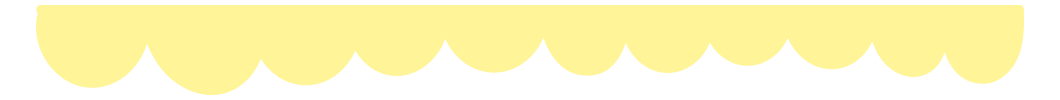 黄色のふわふわ