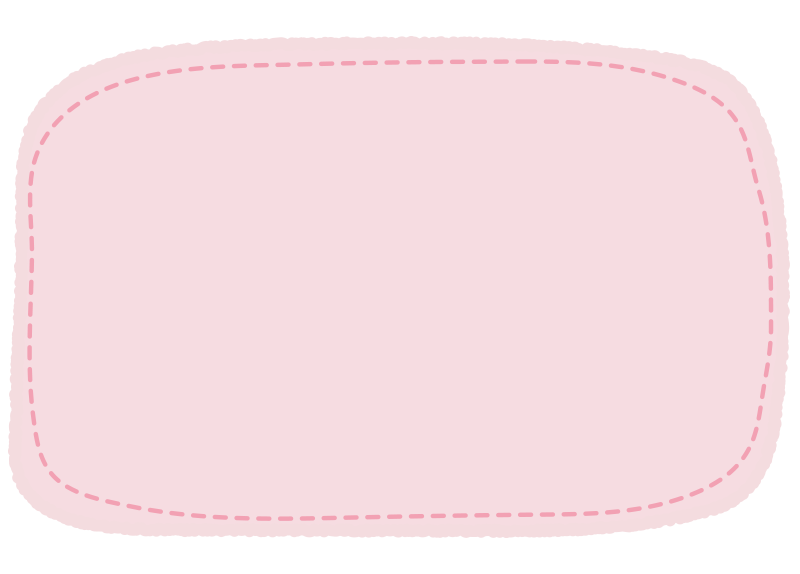 ピンクの点線の枠