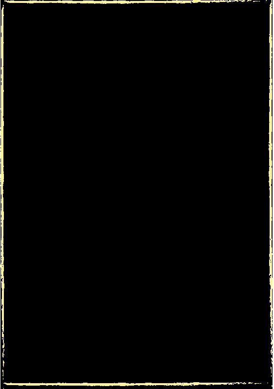 黄色のクレヨンで描いた枠(A4縦)