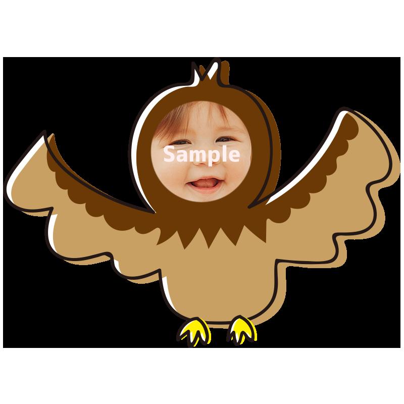 【顔はめ】鷹