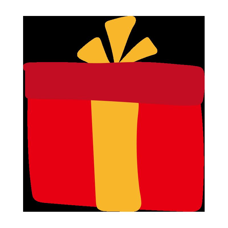 赤い箱のプレゼント
