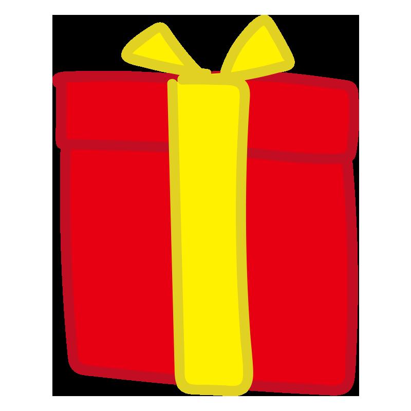 黄色いリボンのプレゼント2