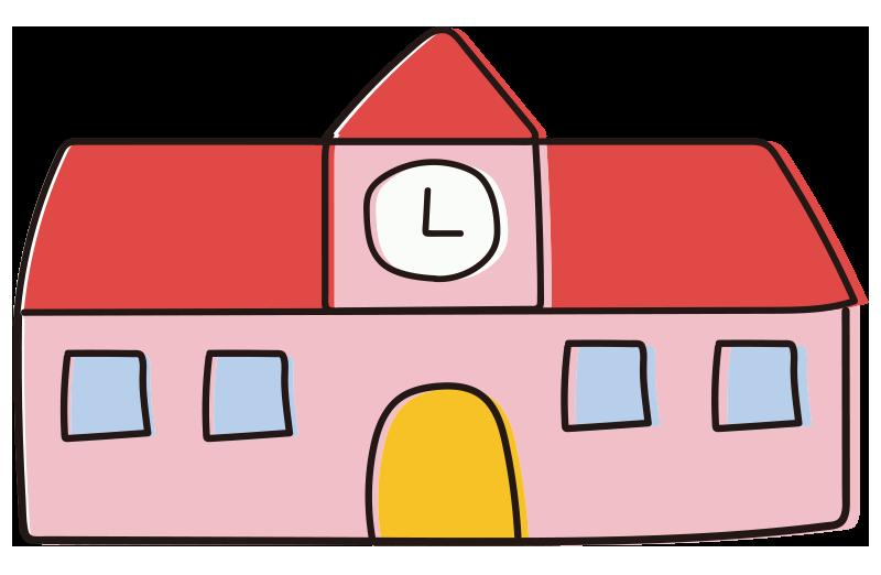 校舎(赤)