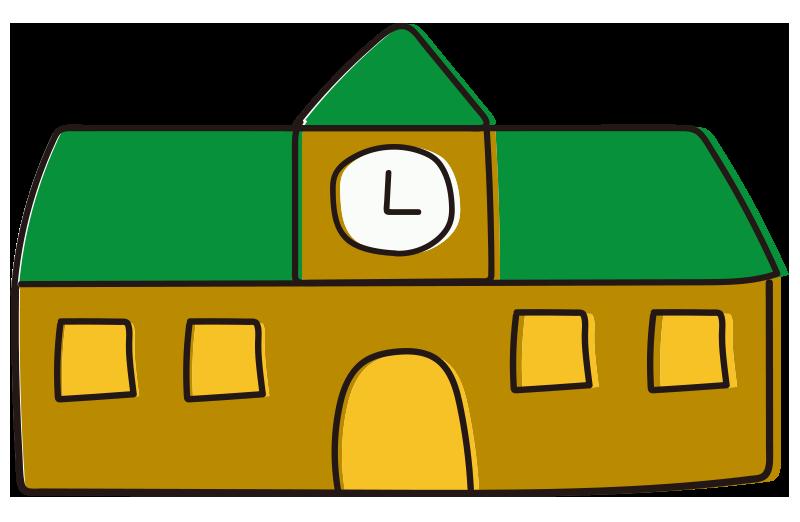 校舎(緑)
