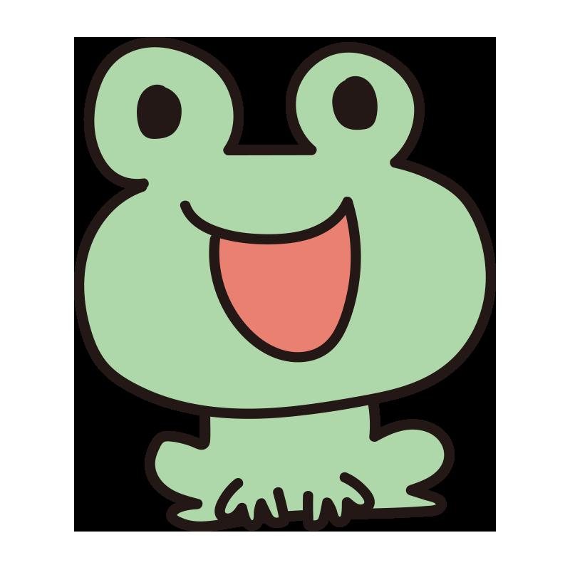 歌うカエル1