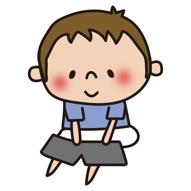 洋服の着替え(男の子)