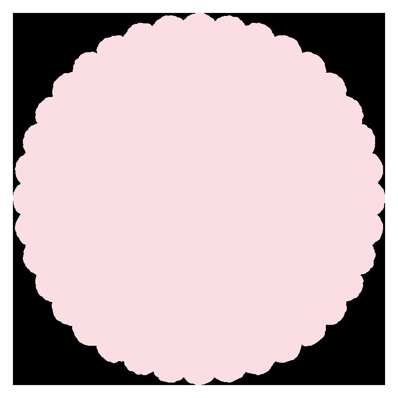 丸いふわふわ(ピンク)