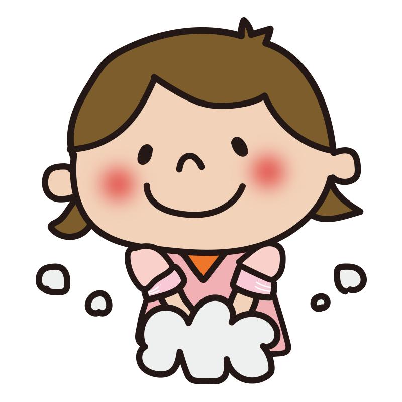 手洗い(女の子)