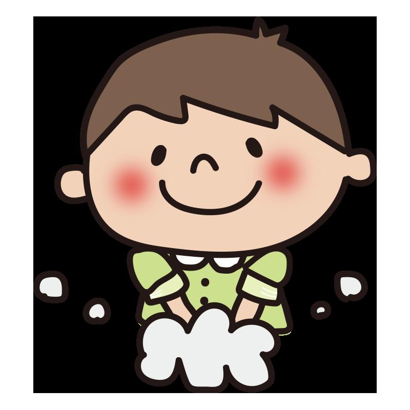手洗い(男の子)