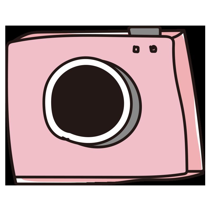 カメラ(ピンク)