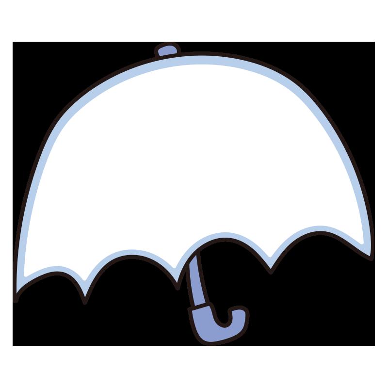 傘のフレーム(青)