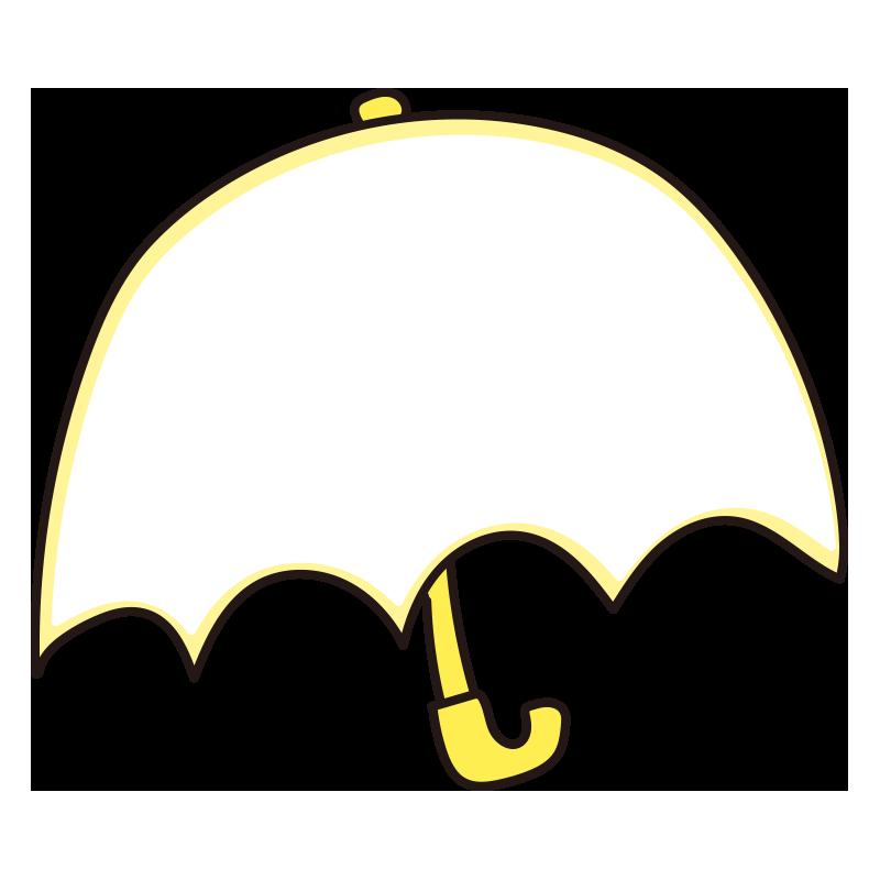 傘のフレーム(黄)