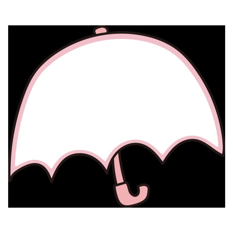 傘のフレーム(ピンク)