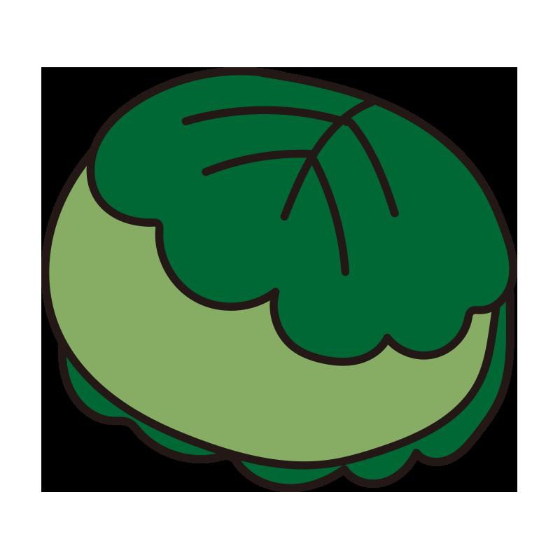 柏餅(緑)1