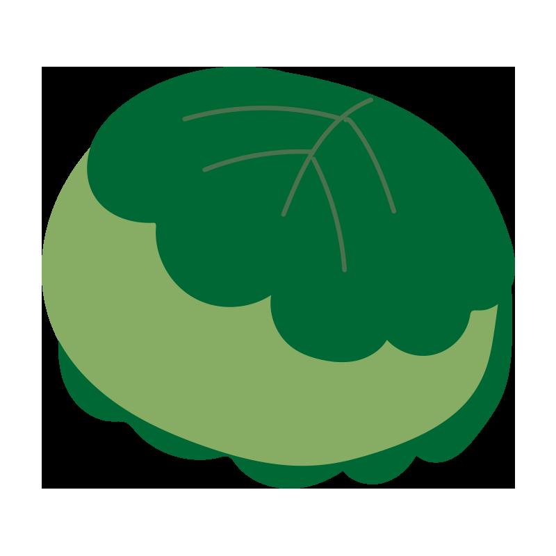 柏餅(緑)2
