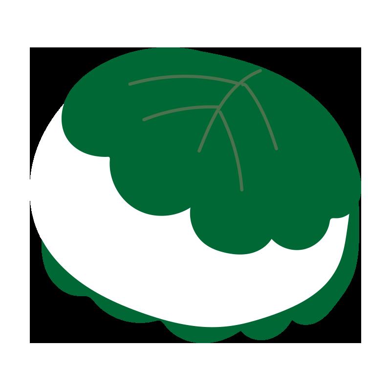柏餅(白)2