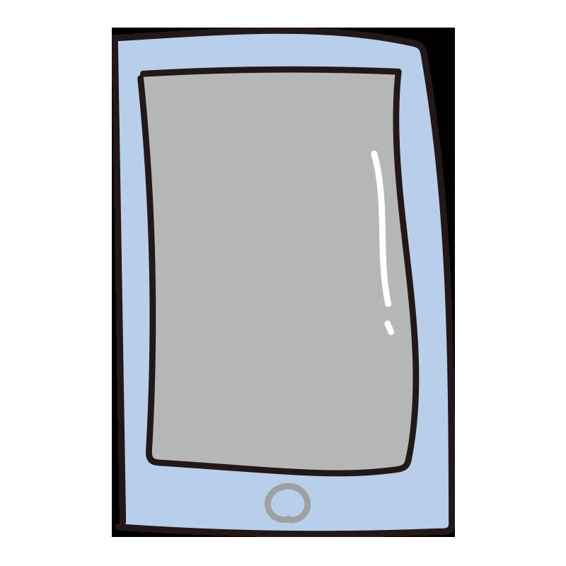 スマートフォン(青)