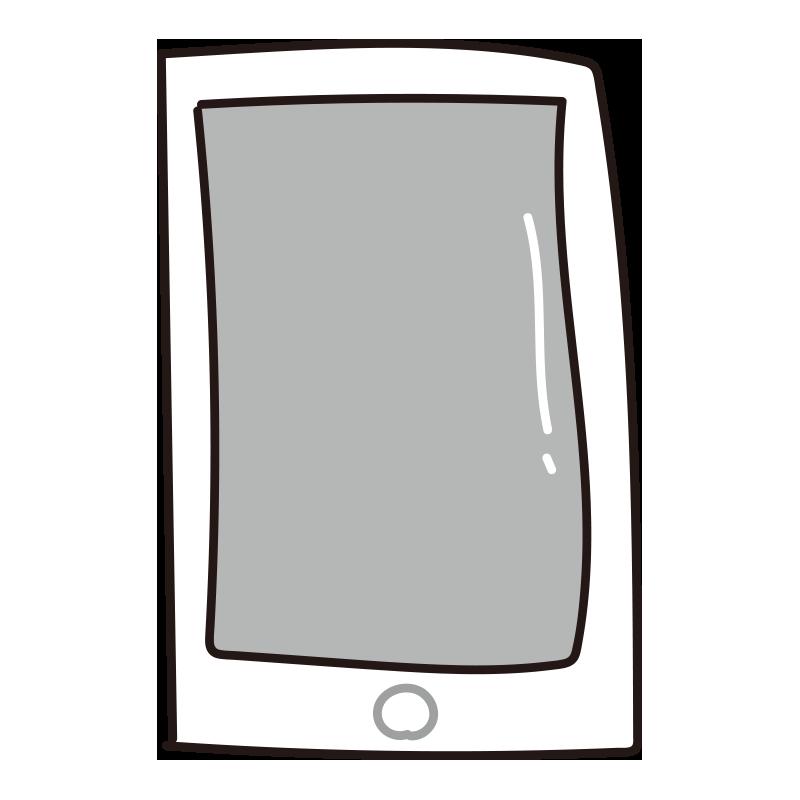 スマートフォン(白)