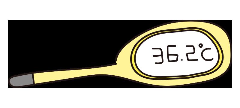 黄色い体温計1