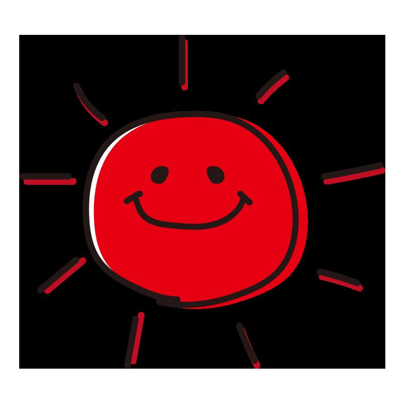 顔のある太陽