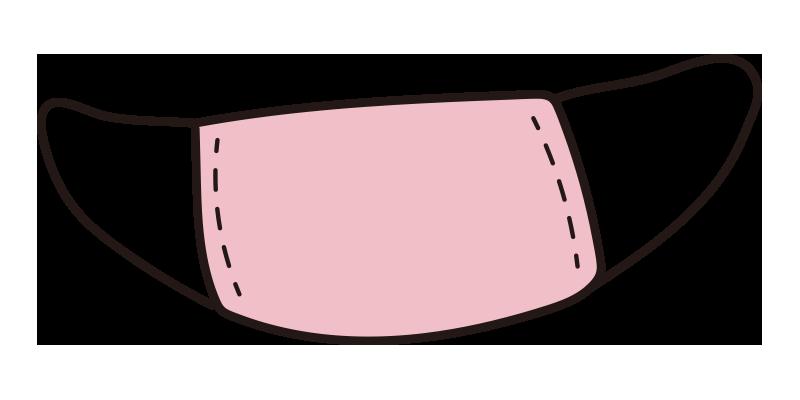 マスク(ピンク)