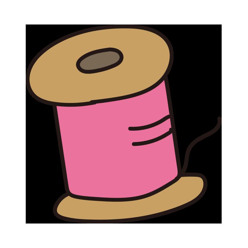糸(ピンク)
