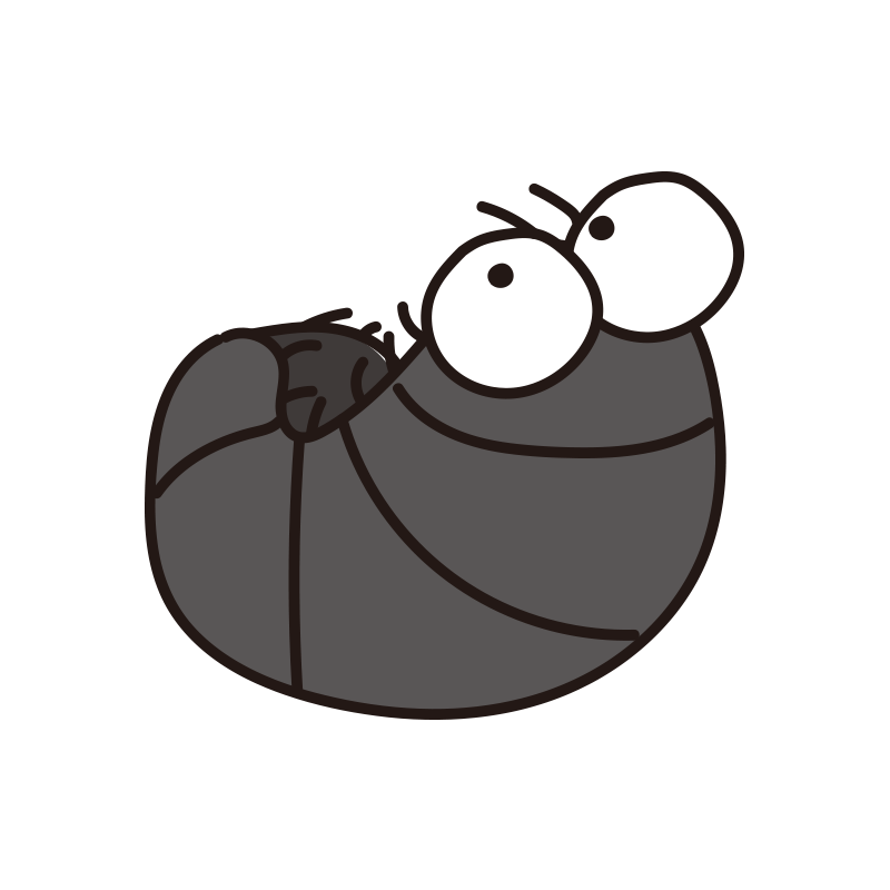丸まるダンゴムシ