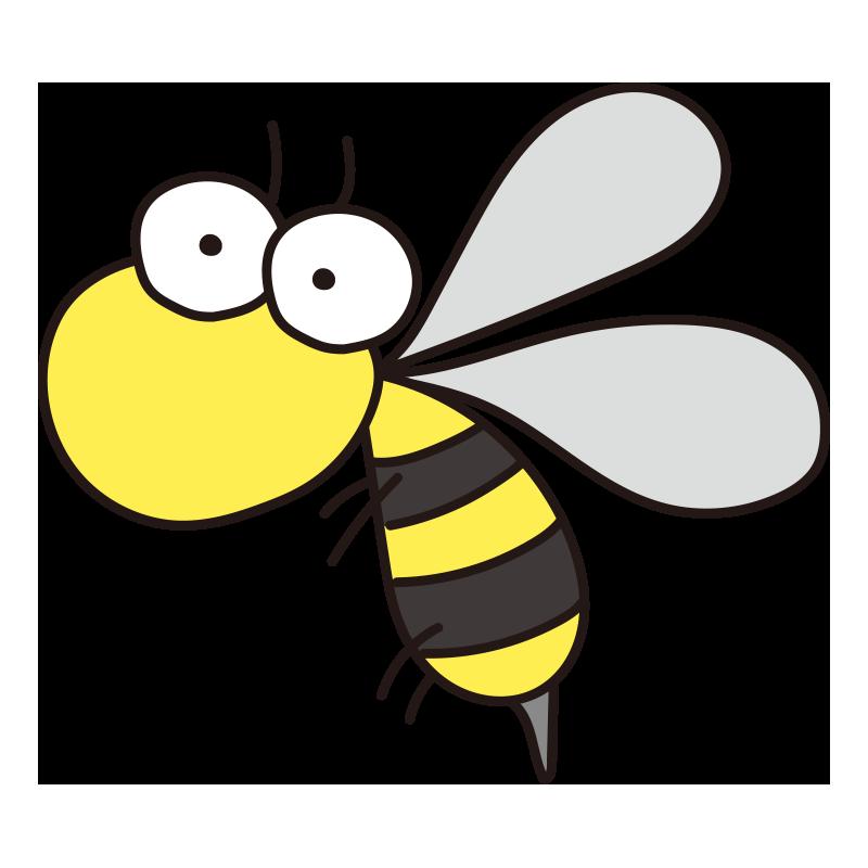 蜂の無料 フリー イラスト てがきっず 可愛い手描きイラスト 保育園 小学校 Pta向けのフリー素材