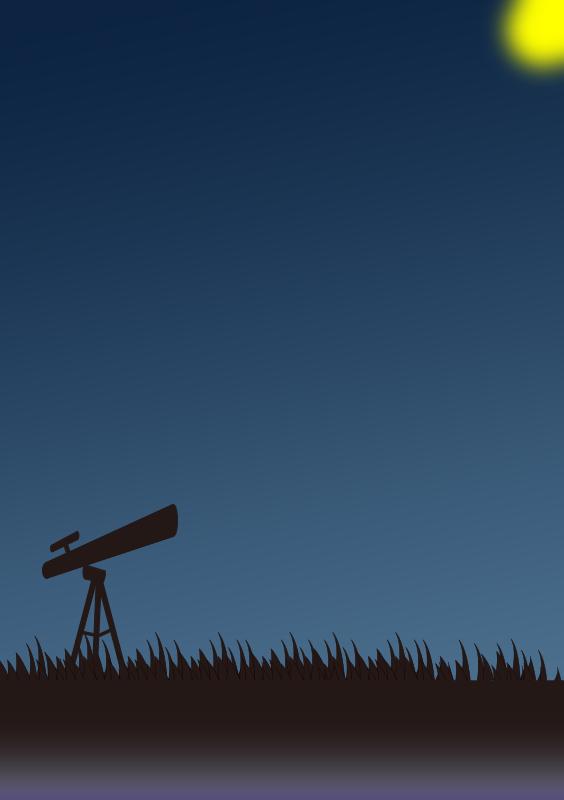 月と天体観測(A4縦)
