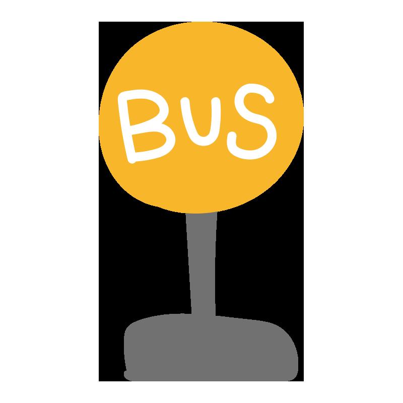 バス停の看板1