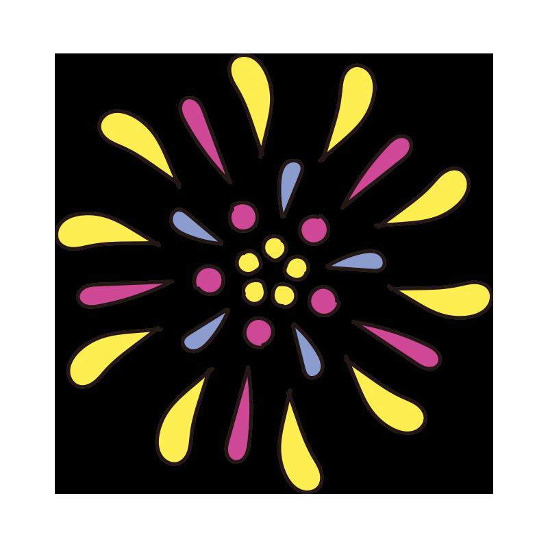 黄色い花火1