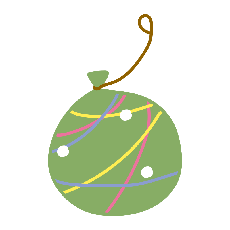 緑のヨーヨー2